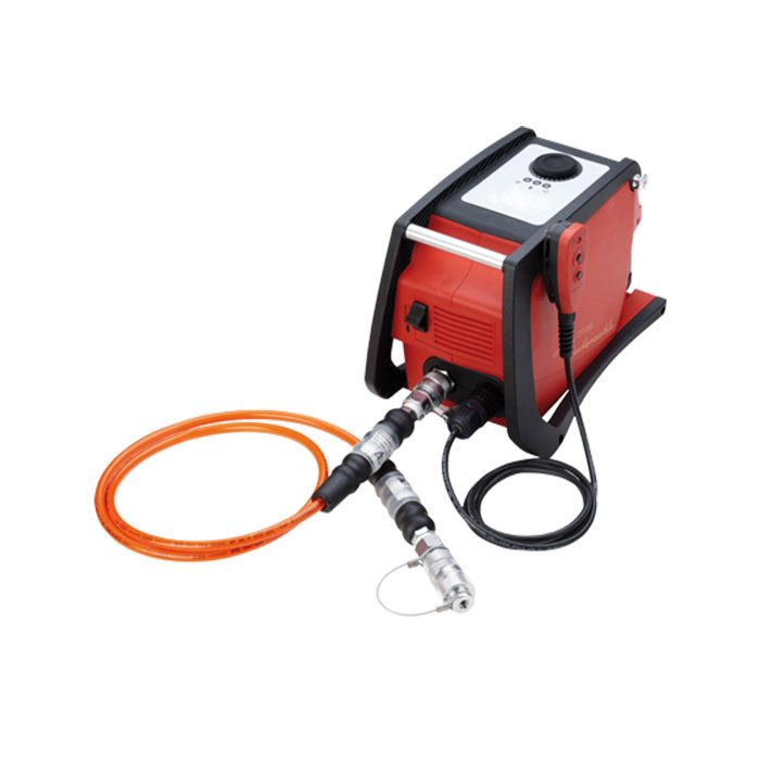 Pompe sur batterie pour coupe-câbles hydraulique CP700 EC Intercable